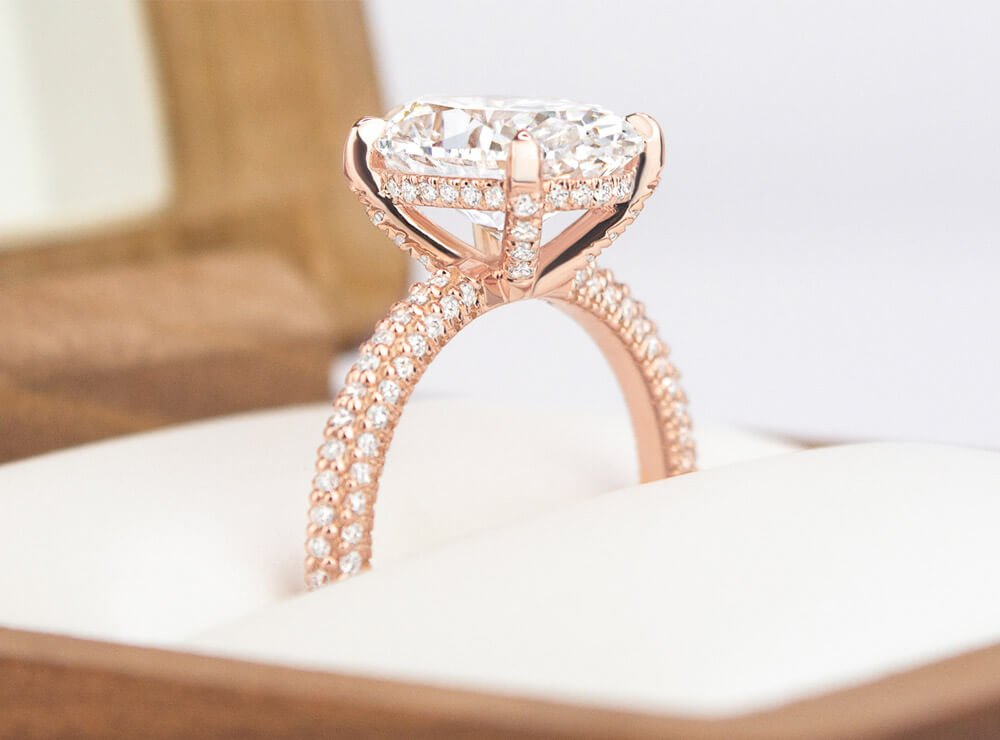 Diamond Engagement setting
